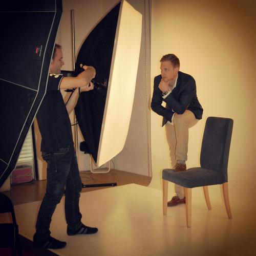 Boy Shooting @ Studio