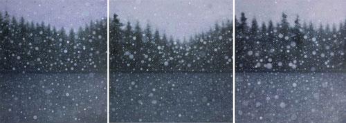 """border"" triptych 160x140+160x160+160x140cm"