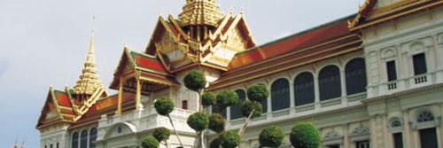 Grand Palace und Wat Phra Kaew in Bangkok geschlossen