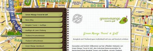 Green-Mango Travel & Golg - unsere neue Homepage