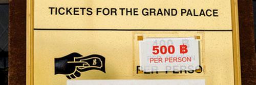 Green-Mango Blog - Neue eintrittspreise für Grand Palace
