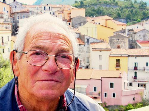 ein Jubilar (Rentner) in Tortora