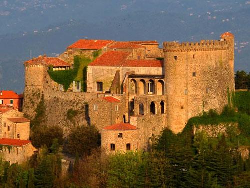 das Castello Malaspina beherrschte früher die Gegend hinter La Spezia