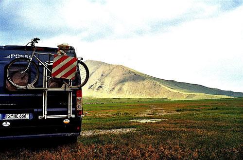 auf dem Hoch-Plateau unterhalb des Ararats standen wir in dieser Nacht