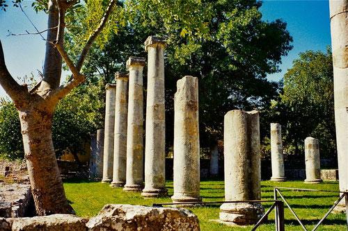 SAEPINIUM - eine ehemals römische Stadt in strategischer Lage
