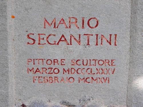 Mario der jüngste Sohn von Segatini ein Schullehrer