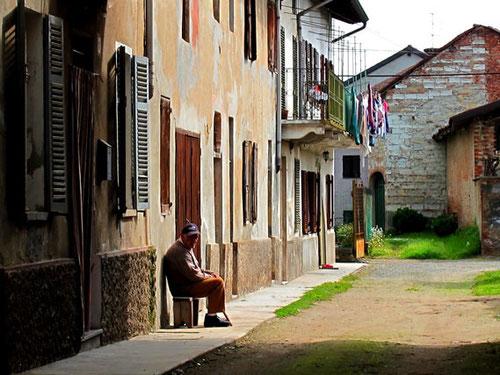 in den Dörfern des Hinterlandes schien alles sehr ruhig zu sein