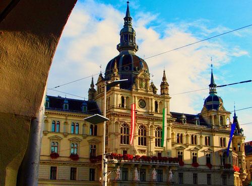 beeindruckend das Grazer Rathaus