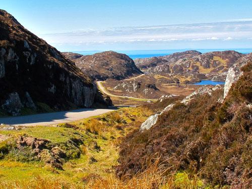 beeindruckendes Panoramabild von den schottischen Nordwest-Highlands