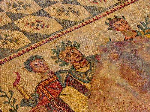 Mosaiken die vielfältige Geschichten erzählen