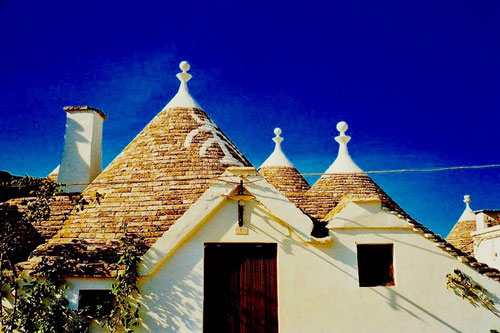 der Pinacollo (Dachspitze) meist kugel- oder sternförmig