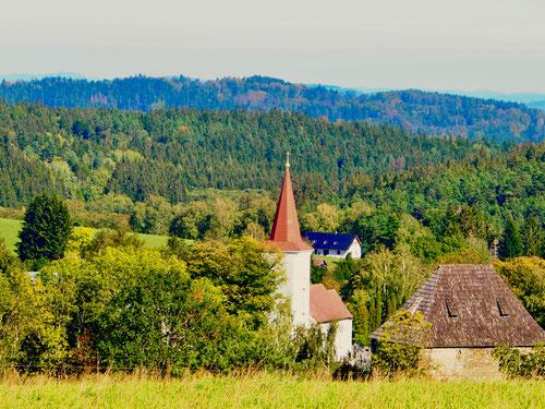 freundlich die Landschaften des Böhmerwald
