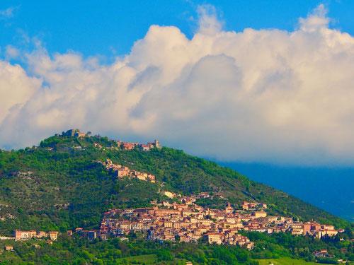 die italienische Siedlungsform richtete sich immer nach der Sonne
