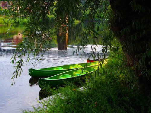 die Kanu-Fahrten - spannend, sportlich und eine Riesengaudi