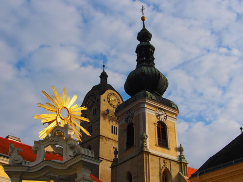 Kremser Münster in der Morgensonne