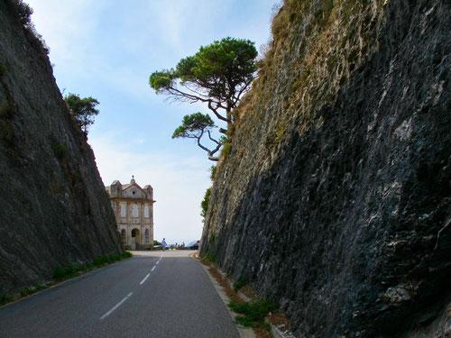 der interessante Col de Santa Lucia