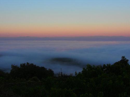 die Mond-Halde über dem Kaiserstuhl, ein magscher Ort voller Geheimnisse