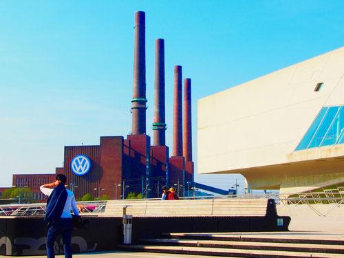 die vier Schlote von Wolfsburg wollte ich einmal sehen