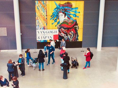 die japanischen Holzschnitte Ende des 19. Jhd´s beeinflussten den franz. Impressionismus ungegemein