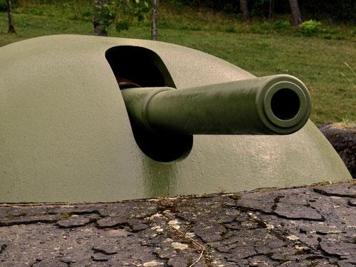 damals die modernste Artillerie der Welt