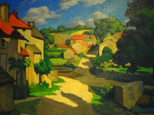 ein Anderes - in der Farbigkeit fast ein Paul Cezanne