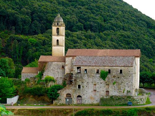 die alte Kirche von Zonca