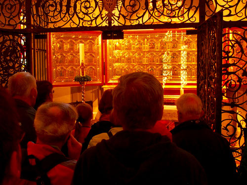der Verduner Altar in der Leopoldskapelle von Klosterneuburg