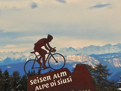 die Seiser-Alm ein Eldorado für Mountain-Biker