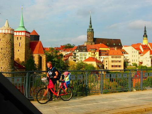 tolle Stadt-Silouette von Bautzen