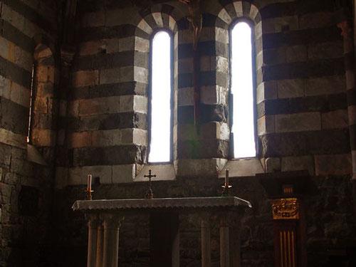 die romanische Kiriche San Pietro