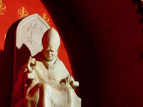 Papst Johannes Paul VI war immer irgendwie dabei
