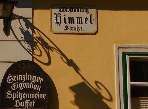 die Himmelstrasse in Döbling