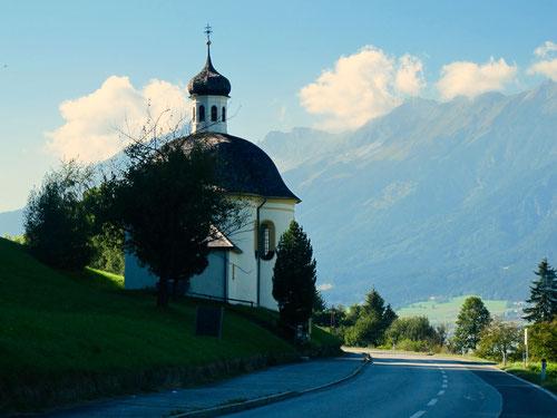 auf der alten Brenner- und Inntalstrasse gings zurück in den Chiemgau