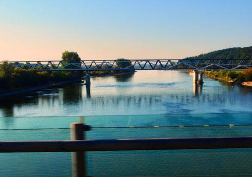 Donau-Übergang südlich von Vilshofen