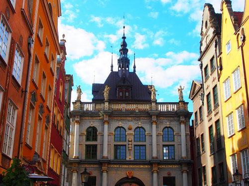 das reichsstädtische Rathaus von Danzig
