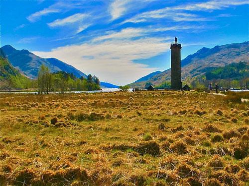 das Feld von Killicrankie für Schotten ein nationales Heiligtum