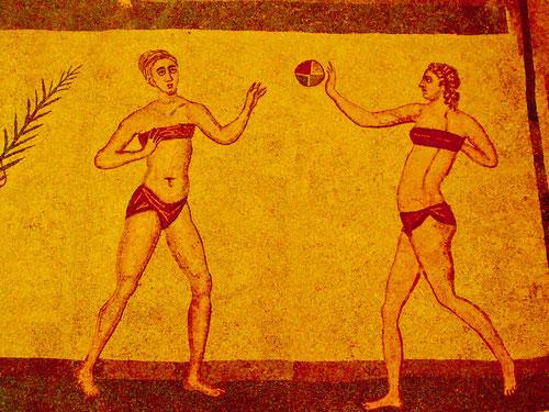 den Bikini gab´s schon vor 2000 Jahren