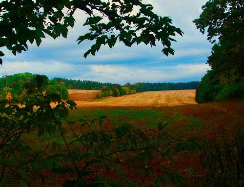 weit weg von des Strasse, fast unberührte Landschaften