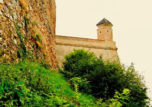die Kloster-Festung in Nitra, ähnlich dem Veitsdom in Prag