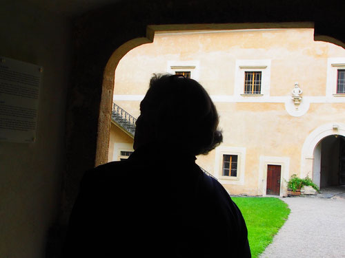 als Burg im 13. Jhd. erbaut - im 17. Jhd. zum Schloss umgestaltet