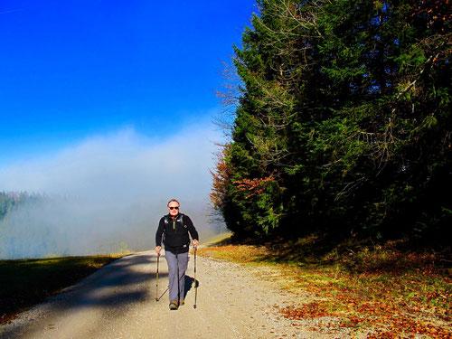 Ottmar kam aus dem Nebel - auf dem Weg zur Sonne