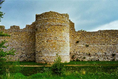 im 11. Jahrhundert  entstand die Festung Portchester-Castle
