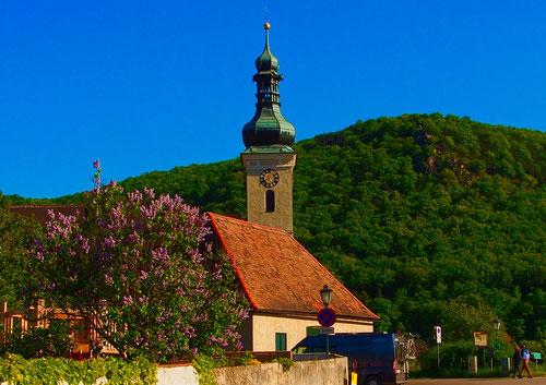 die Pfarrkirche von Mauterndorf