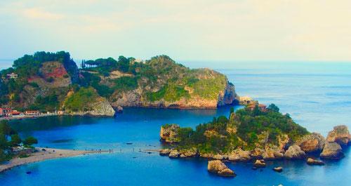 Isola Bella, bezauberndes Kleinod im blauen Meer - fast so schön wie Marina Piccola in Capri