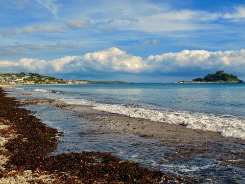 die Landschaften an der Küste wechseln ständig ihr Aussehen