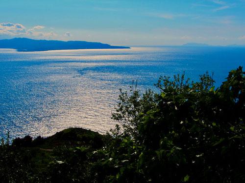 das Meer präsentierte sich in erhebener Schönheit
