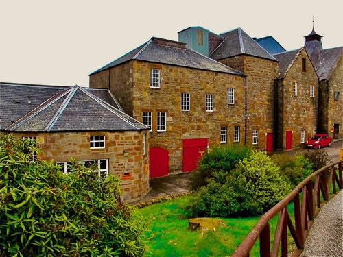 die älteste Whisky-Destillery Schottlands