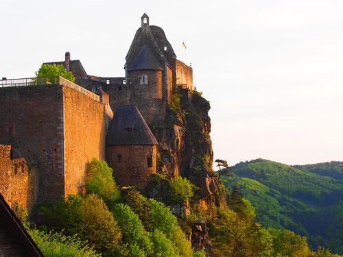 die Burg Aggstein - ein Prachtstück mit 900 jähriger Vergangenheit