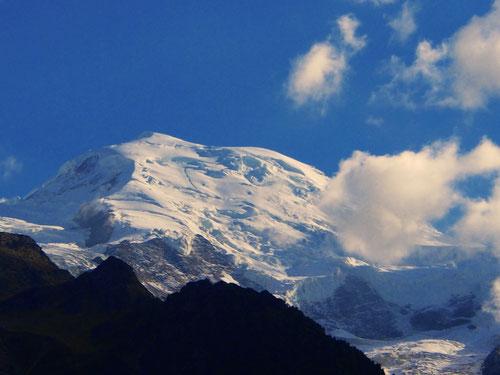 Mont Blance - 4.810 m hoch - ein Pracht-Berg von überwaltigender Schönheit