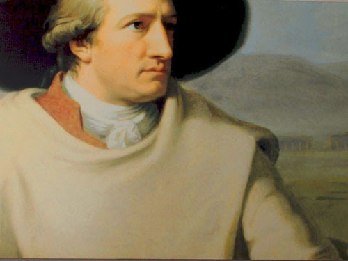 der junge Dichterfürst Johann Wolfgang von Goethe - 1788 Gast in Malcesine